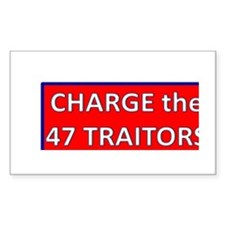 Charge the 47 Traitors Decal