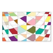 Abstract Colors Tapestry Decal