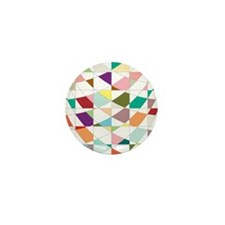 Abstract Colors Tapestry Mini Button (100 pack)