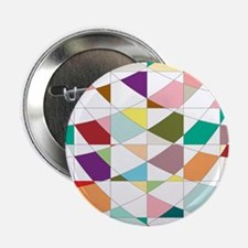 "Abstract Colors Tapestry 2.25"" Button (100 pack)"