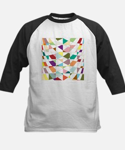 Abstract Colors Tapestry Baseball Jersey