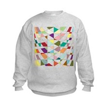 Abstract Colors Tapestry Sweatshirt