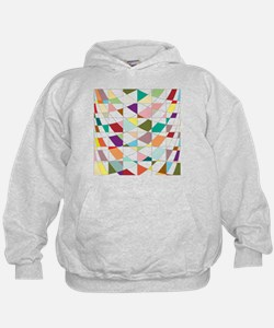 Abstract Colors Tapestry Hoodie