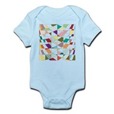 Abstract Colors Tapestry Body Suit