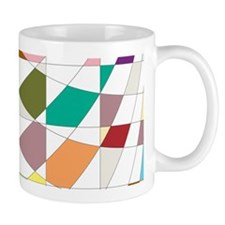 Abstract Colors Tapestry Mugs