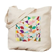 Abstract Colors Tapestry Tote Bag