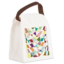 Abstract Colors Tapestry Canvas Lunch Bag