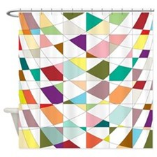 Abstract Colors Tapestry Shower Curtain