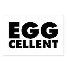 Eggcellent Postcards (Package of 8)