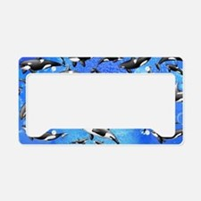 Orca License Plate Holder