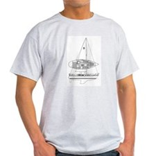 Funny Black and white drawing T-Shirt