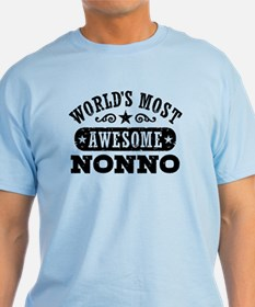 World's Most Awesome Nonno T-Shirt