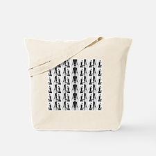 1920s flapper 2 Tote Bag