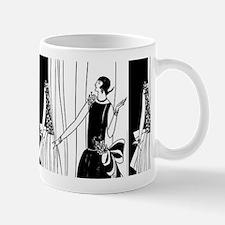 1920s flapper 2 Small Mugs
