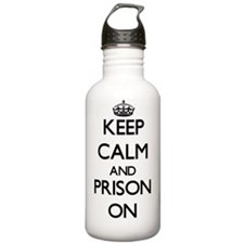 Keep Calm and Prison O Water Bottle