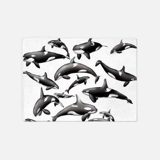 Orca 5'x7'Area Rug