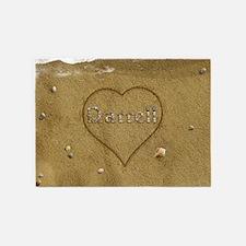 Darrell Beach Love 5'x7'Area Rug