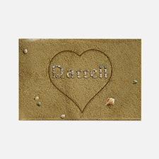 Darrell Beach Love Rectangle Magnet