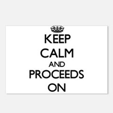 Keep Calm and Proceeds ON Postcards (Package of 8)