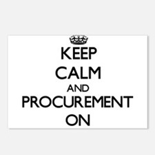 Keep Calm and Procurement Postcards (Package of 8)