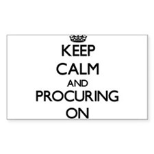 Keep Calm and Procuring ON Decal
