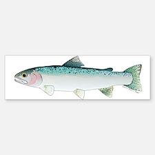 Steelhead rainbow trout Bumper Bumper Bumper Sticker