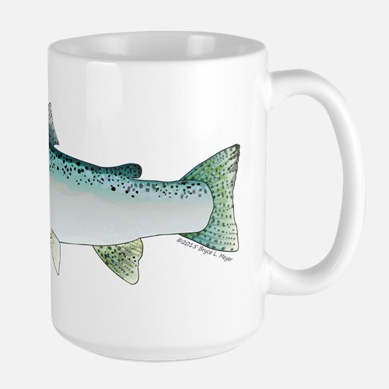 Steelhead rainbow trout Mugs