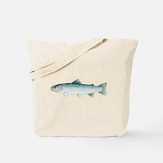 Steelhead rainbow trout Tote Bag