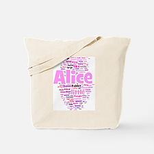 Unique Literature alice Tote Bag