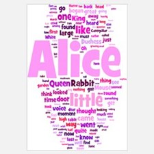 Cute Alice Wall Art