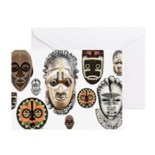 Cute Mask Greeting Card