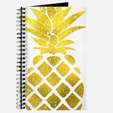 Faux Gold Foil Pineapple  Journal
