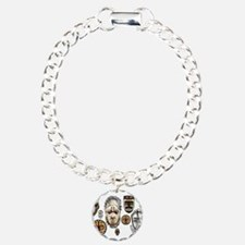 Cute African Charm Bracelet, One Charm