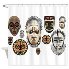 Cute African Shower Curtain