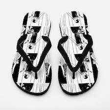 1920s flapper 2 Flip Flops