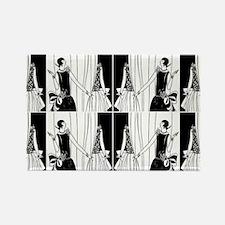 1920s flapper 2 Magnets