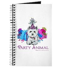 Westie Party Celebration Journal