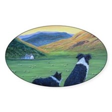 Cute Scotland print Decal