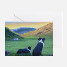 Unique Dog prints Greeting Card