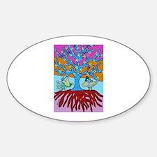 Jewish Tree Of Life - Sunset - Jennifer Fa Decal