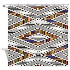 Tribal goodness Shower Curtain