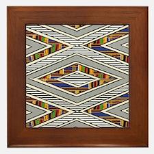 Tribal goodness Framed Tile
