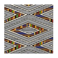 Tribal goodness Tile Coaster