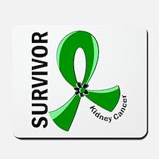 Kidney Cancer Survivor 12 (Green) Mousepad