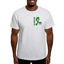 Kidney Cancer Survivor 12 (Green) T-Shirt
