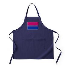 Bisexual Pride Flag Apron (dark)