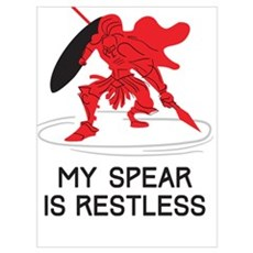Pantheon | My Spear is Restless Poster