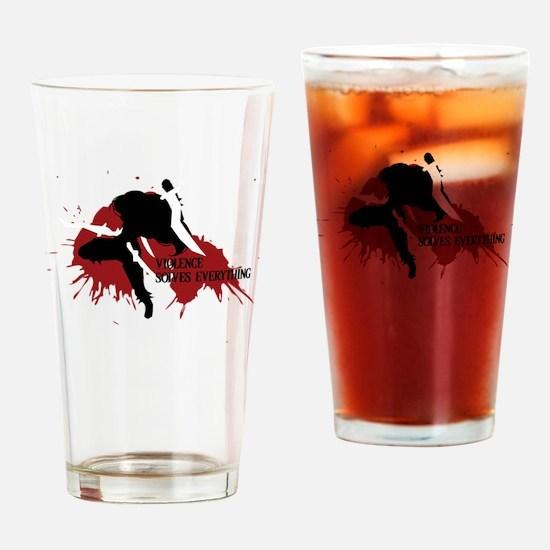 Katarina | Violence Solves Everythi Drinking Glass