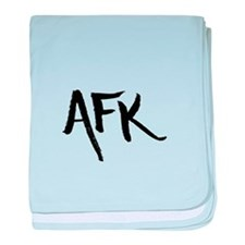AFK baby blanket