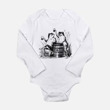Cute Wasted Long Sleeve Infant Bodysuit